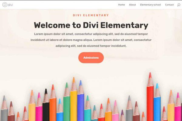 divi-elementary