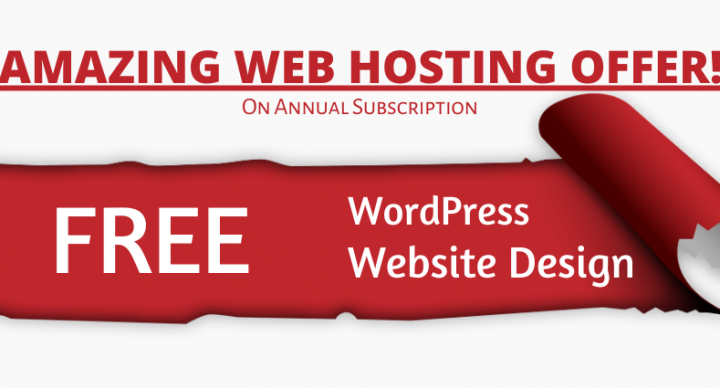Web hosting Nashik - Great Offer !! Now host & build websites faster than ever.